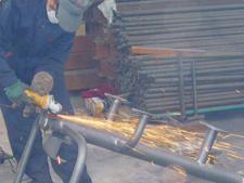 Metal çocuk oyun parkı ve park spor aletleri üretimi